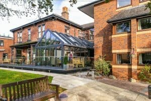 side view of Garforth Care Home